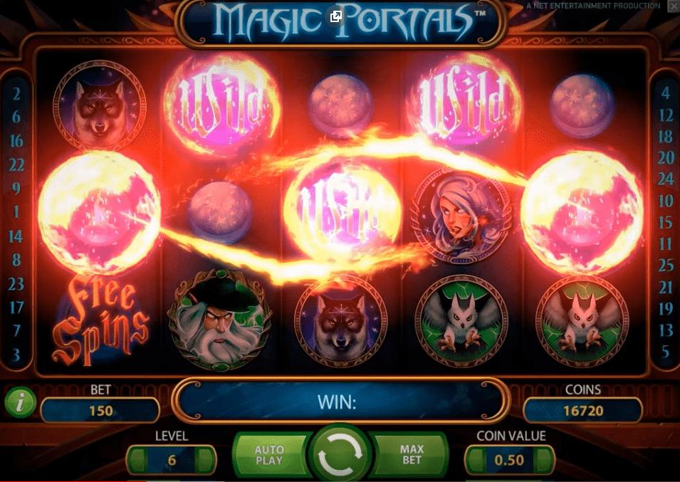 magic portals игровой автомат